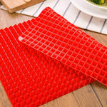 Pyramid Nonstick Baking Mats - For A Clean Oven - Smartkitchengoods