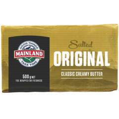 Butter - Mainland Original 500g