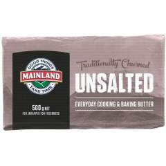 Butter - Mainland Unsalted 500g