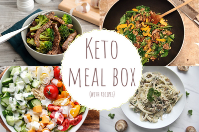 Keto Meal Box (with recipes)