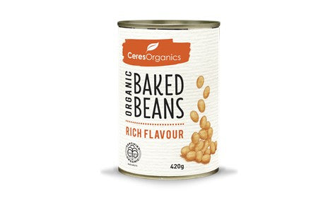Organic Baked Beans, Rich Flavour 420g