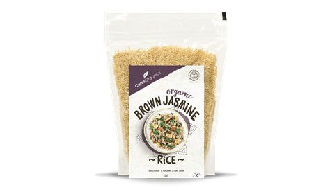 Organic Jasmine Brown Rice 500g