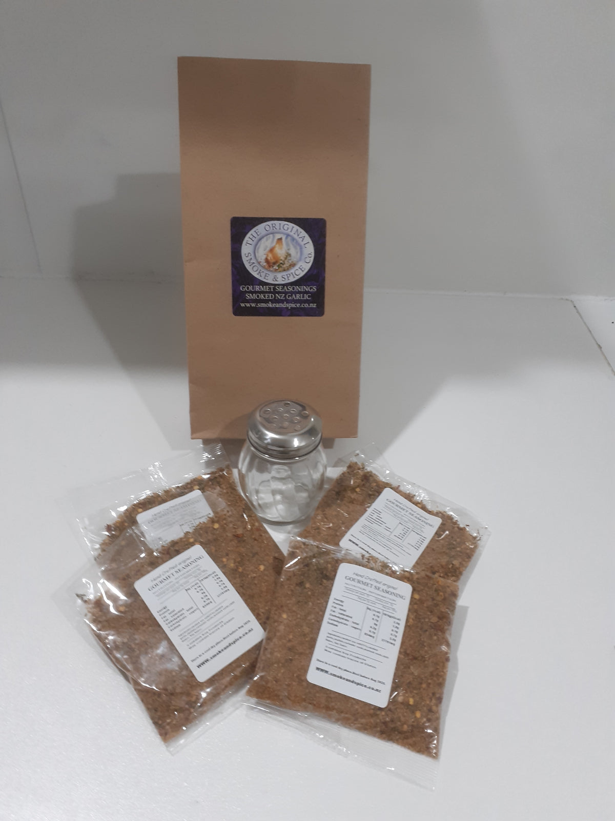 Gourmet Smoked NZ Garlic Salt
