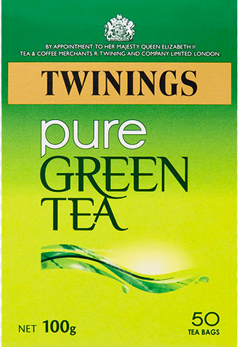 Twinings Pure Green Tea Bags 50EA