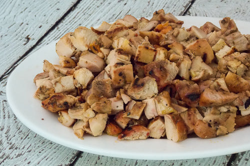 Diced Chicken Breast (Marinated)