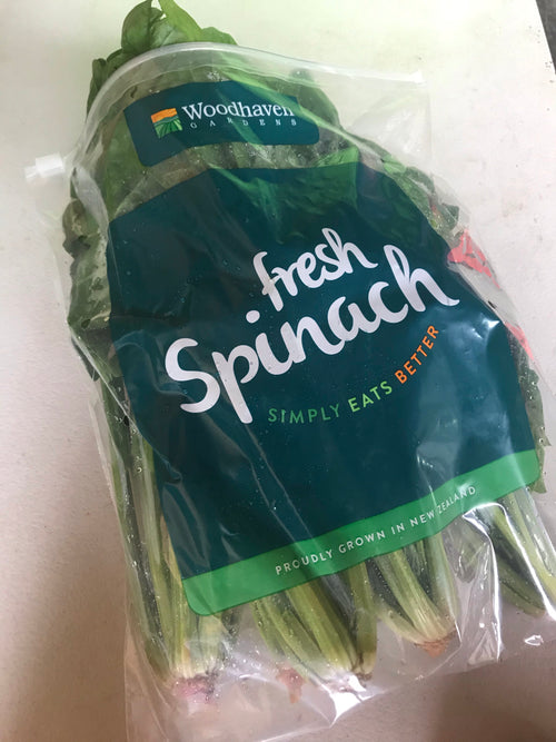 Spinach bag