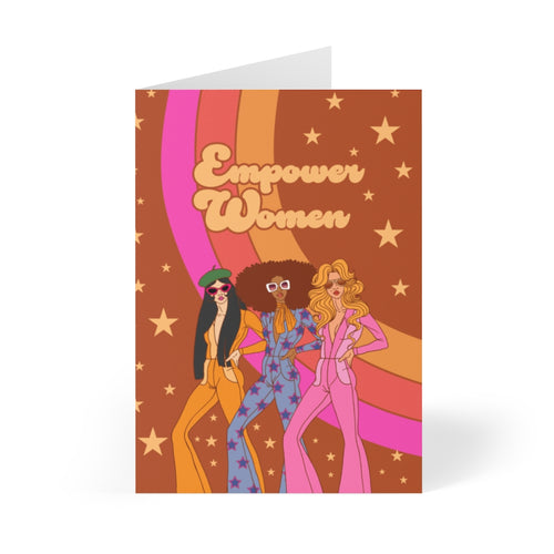 Empower Women Greeting Card