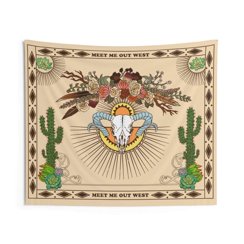 Out West Tapestry