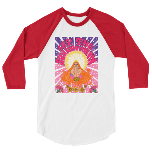 Let The Sunshine In Raglan T-shirt