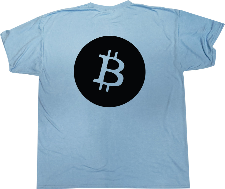 Hold on for Dear Life Bitcoin/Litecoin tshirt