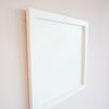 White Wood Rectangle Frame Photo
