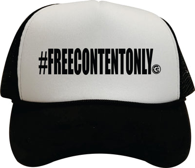 Free Content Only Trucker Hat