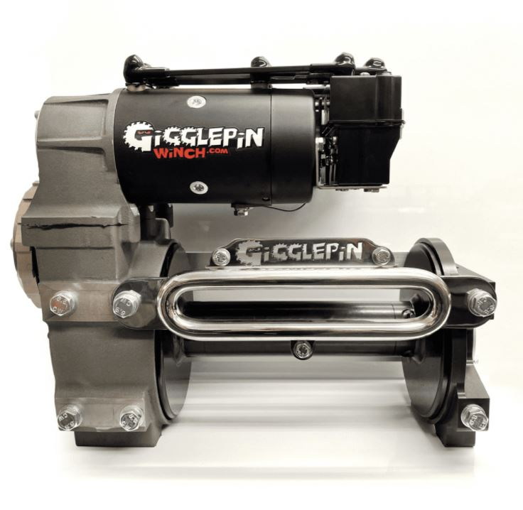Gigglepin GP100 Twin Motor Winch with Bow 2 Plus Motors