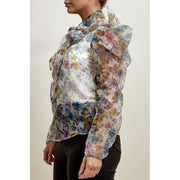 Floral Puff Sleeve Top - Modern Ruth