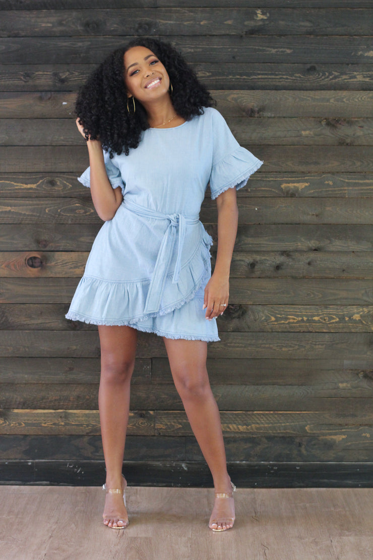 Kerri Denim Dress - Modern Ruth