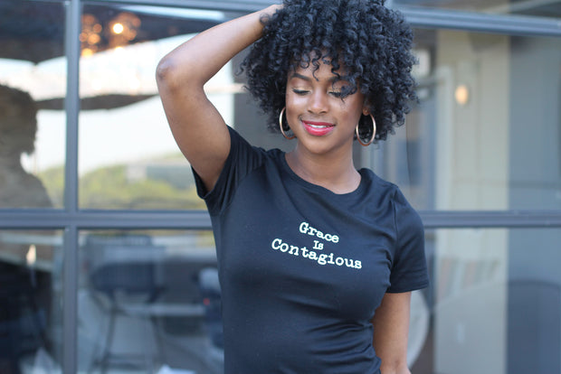 Grace Is Contagious Tee - Modern Ruth