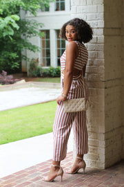Lily Backless Jumpsuit - Modern Ruth