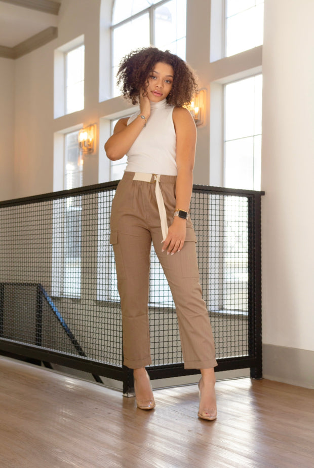The Catalina Cargo Pants - Modern Ruth