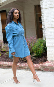 Denim Dress - Modern Ruth
