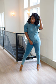 Natali Denim Set - Modern Ruth
