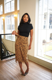 Dotted Wrap Skirt - Modern Ruth