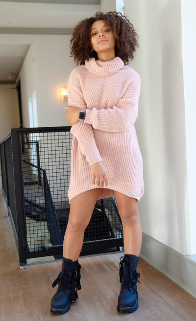 Be Mine Knit Sweater Dress - Modern Ruth