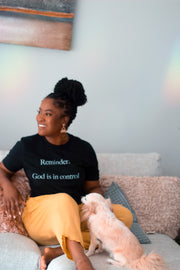 God Is In Control Tee - Modern Ruth