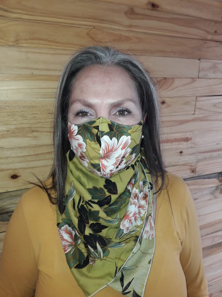 Multi-Use Fashion Scarf, Face Cover