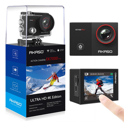 EK7000 Pro Action Camera Ultra HD 4K WiFi 1080P/60fps 2.0 LCD 170D Lens