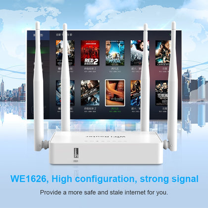 Original WE1626 Wireless WiFi Router For 3G 4G USB Modem