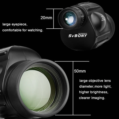 Powerful Waterproof Monocular