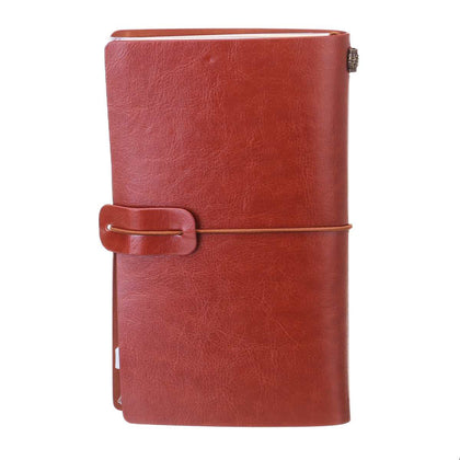 20 x 12cm Engraved Leather Notebook