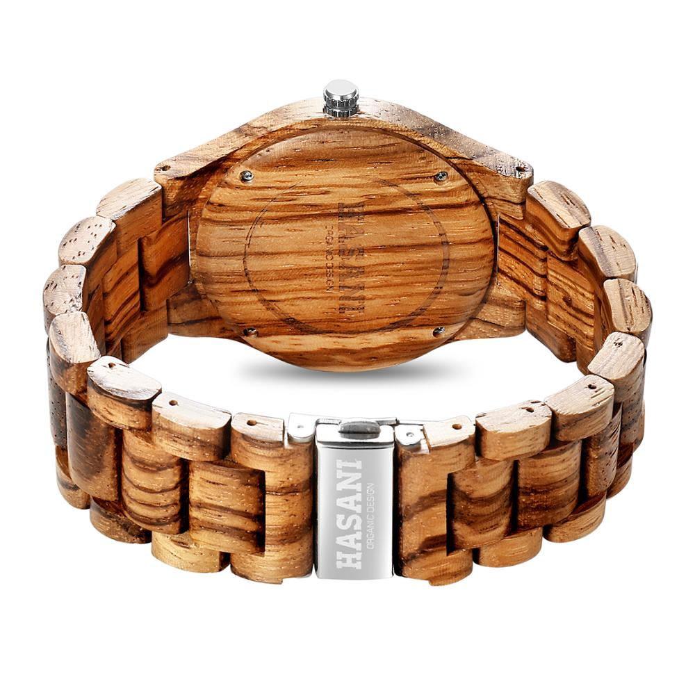 Eco-Friendly Natural Wooden Watch