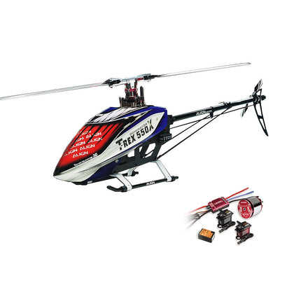 Align Dominator T-Rex 550X 6CH 3D RC Helicopter With Motor Servo ESC Gyro