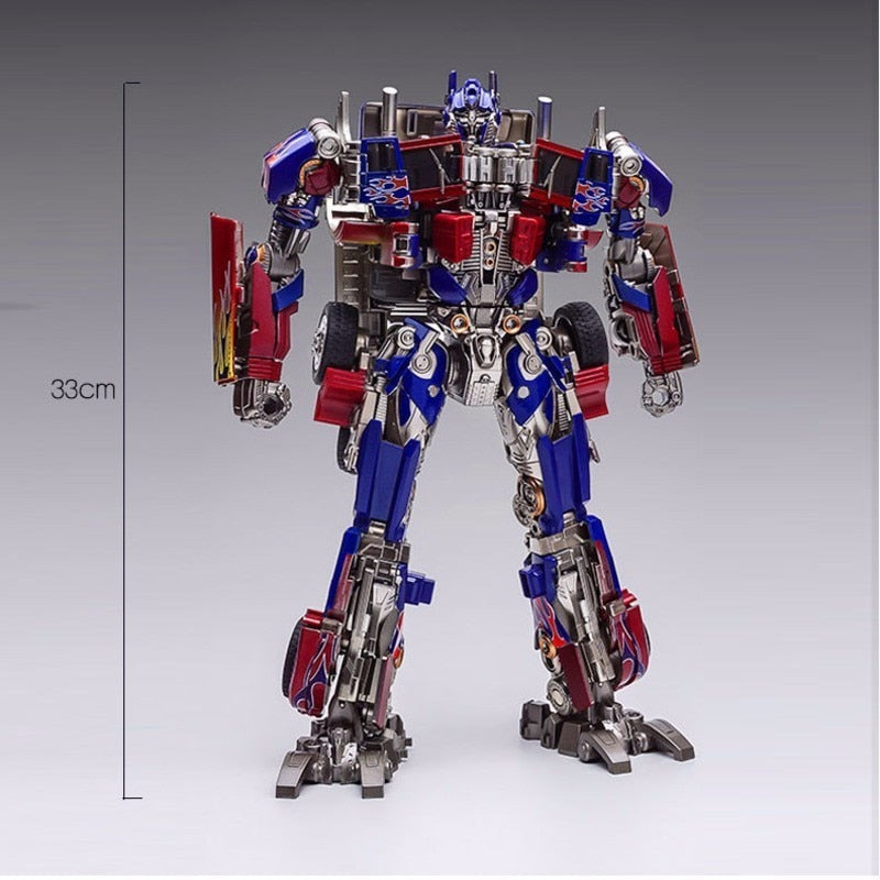Optimus PrimeTransforer Action Figures, Metal Alloy Parts