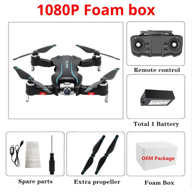 WIFI Drone 4K HD with Adjustable Wide Angle Camera