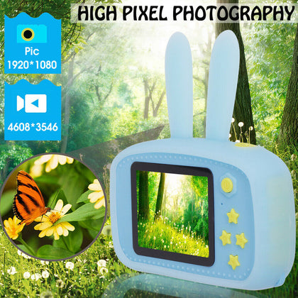 Kids Digital Camera Full HD 1080P 2 Inch LCD Screen Display