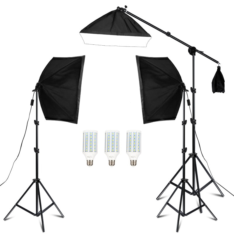 Photography Studio Softbox Lighting Kit