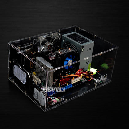 Full Transparent Personalized Acrylic Computer Case