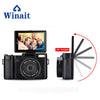 Full HD1920x1080 DSLR Camera Max 24MP With Rotatable Screen and Changeable Lens