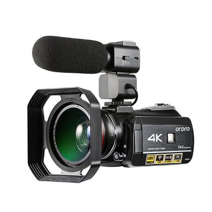 4K Waterproof WiFi Camera Camcorder