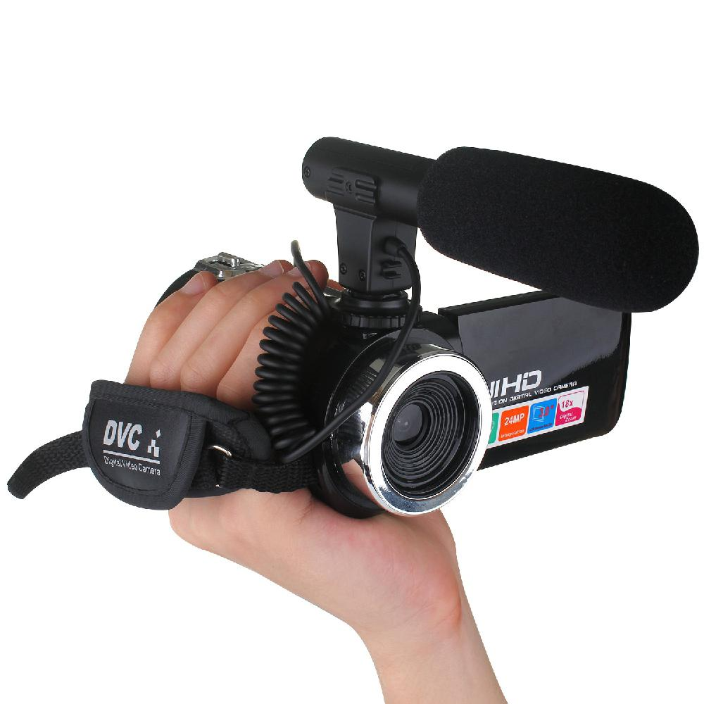 Professional 4K HD Camera Camcorder