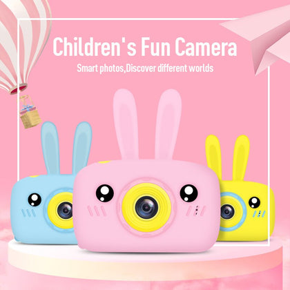 Kids Animal Digital Camera Cam Built in 5 mini games Full HD 1920x1080P Mini Video Camcorder