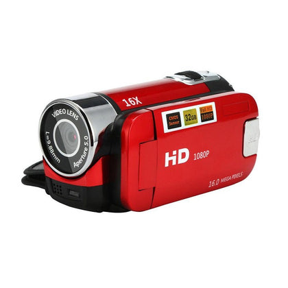 High Definition Digital Video Camcorder 1080P 2.7 Inch TFT LCD Screen 16 X Zoom