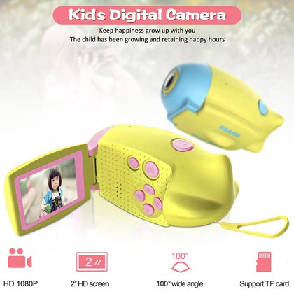 Kids Digital Camera HD 2.0 Inch Color Display
