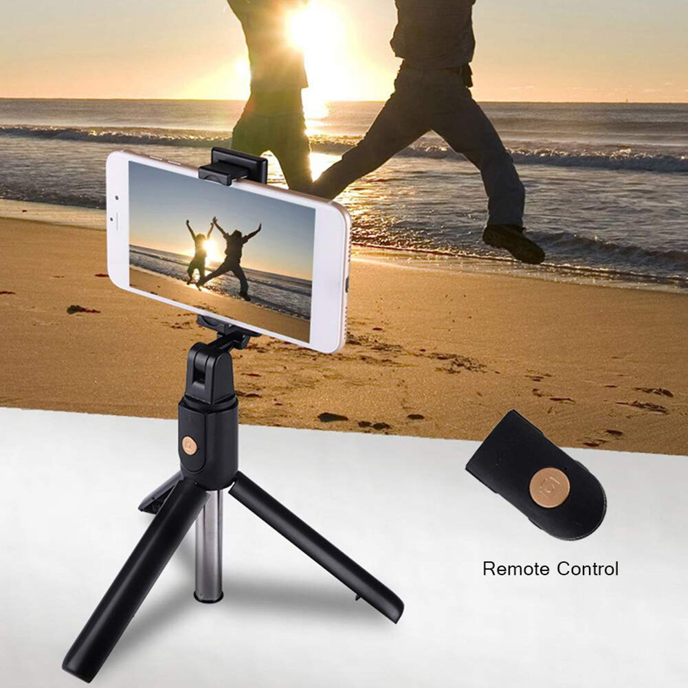 Wireless Bluetooth Mini Extendable Tripod