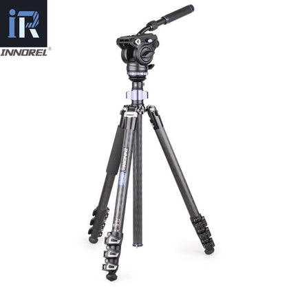 Carbon Fiber Multi functional Panoramic Professional Tripod Kit