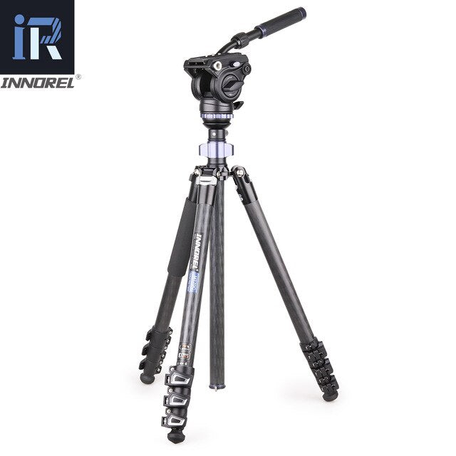 Carbon Fiber Fluid Head Panoramic Tripod Kit