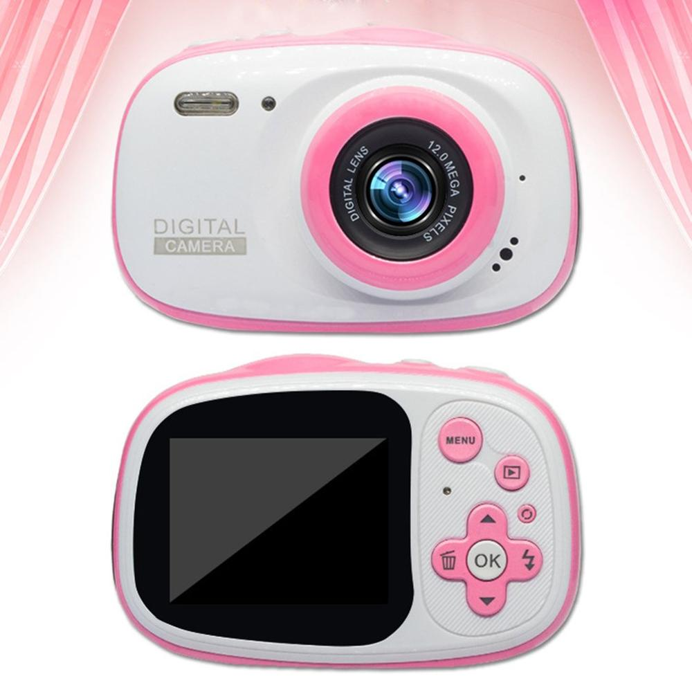 Portable Size Outdoor Kids Digital Camera 720P IP68 Waterproof 6X Digital Zoom Smart IPS HD Screen