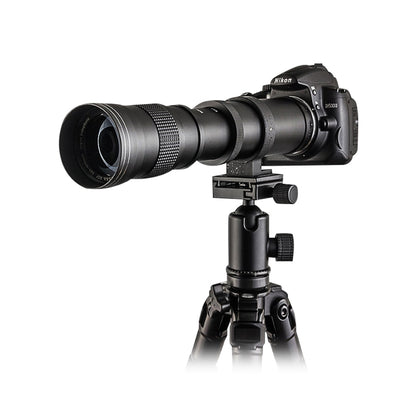 Mcoplus 420-800mm F8.3-16 Super Telephoto Lens Manual Zoom
